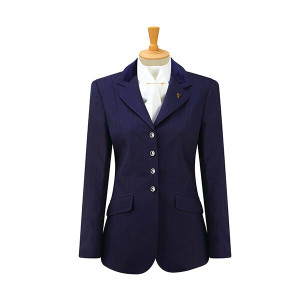 Caldene Competition Claremont Stretch Jacket - Ladies Navy
