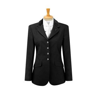 Caldene Competition Claremont Stretch Jacket - Girls Black