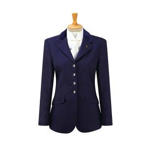 Caldene Competition Claremont Stretch Jacket - Girls Navy