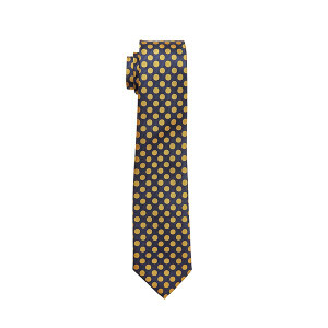 Caldene Competition Tie - Navy Large Spot