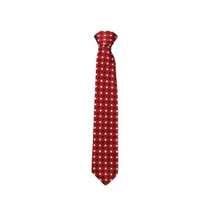 Caldene Competition Tie - Red Small Spot