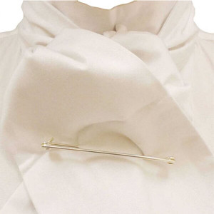 Caldene Competition Self Tie Stock - White