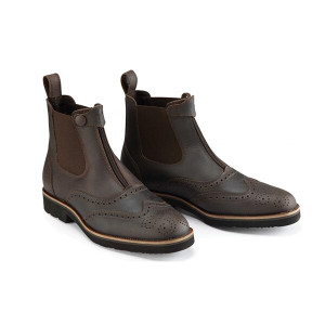 Caldene Bridestone Oxford Waxed Leather Paddock Boots