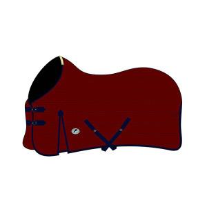 JHL Essential Mediumweight Stable Rug - Burgundy/Navy