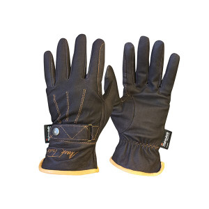 Mark Todd Winter Gloves with Thinsulate - Brown