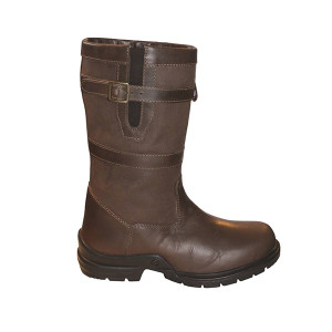 Mark Todd Short Leather Country Boot - Unisex