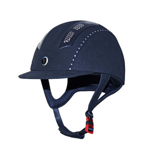 Gatehouse Chelsea Air Flow Pro Suedette Crystal Riding Hat - Navy