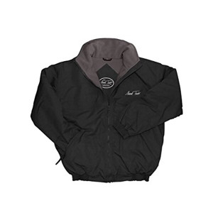 Mark Todd Fleece Lined Blouson Unisex Jacket - Black/Grey