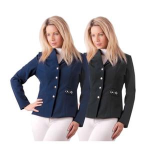 Rhinegold Elite Comfort Show Jacket - Black