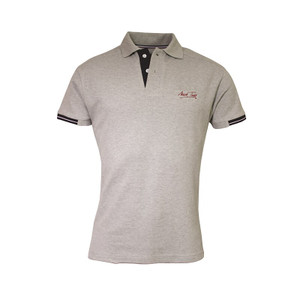 Mark Todd Frank Mens Short Sleeve Polo Shirt - Grey