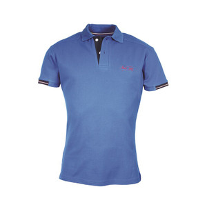 Mark Todd Frank Mens Short Sleeve Polo Shirt - Royal Blue