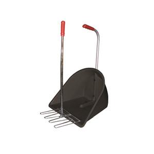 Stable Kit Manure Scoop (Standard Height) - Black