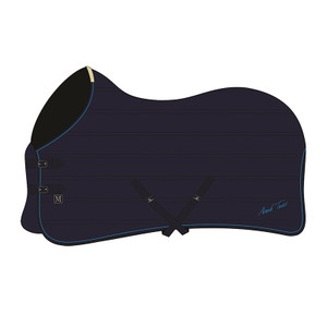 Mark Todd Quilted Lightweight Stable Rug - Navy & Royal Blue