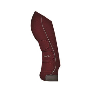 Mark Todd Nylon Travel Boots - Burgundy