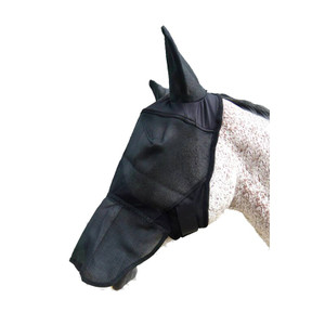Mark Todd Full Face Mask with Ears - Black