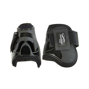 Elico Fetlock Boots with Memory Foam Lining - Black