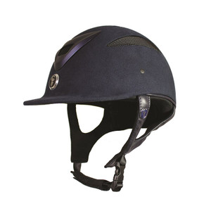 Gatehouse Conquest MK II Riding Hat - Navy Soft Finish