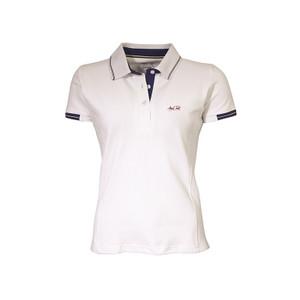 Mark Todd Betty Short Sleeve Polo Shirt - White