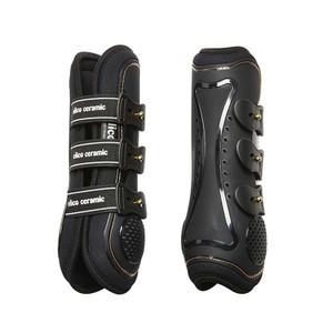 Elico Ceramic Memory Foam Tendon Boots - Black