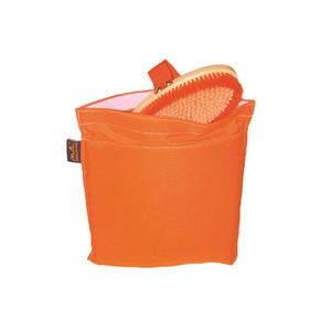 Moorland Rider Brush Wash-Bag for Ropes & Headcollars - Orange