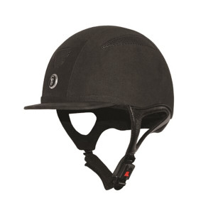 Gatehouse Challenger Riding Hat Suede - Black