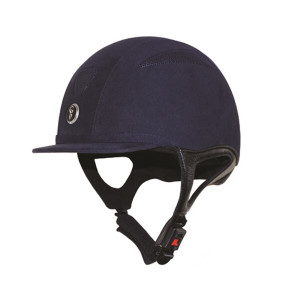Gatehouse Challenger Riding Hat Suede - Navy