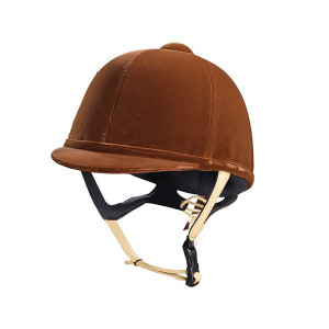 Caldene Riding Hat Tuta Junior - Brown