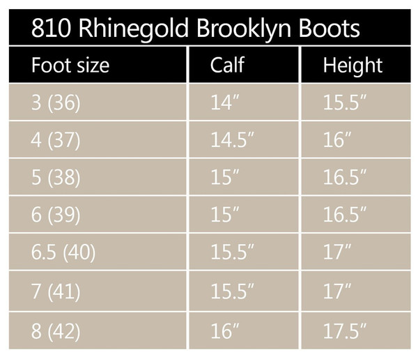 Rhinegold Elite Brooklyn Leather Country Boots - Brown