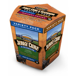 Jerky Cure and Seasoning Variety Pack - 15lbs.