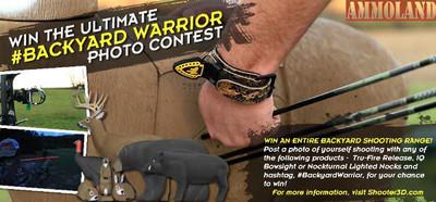 Shooter 3D Targets Kicks Off #BackyardWarrior Photo Contest