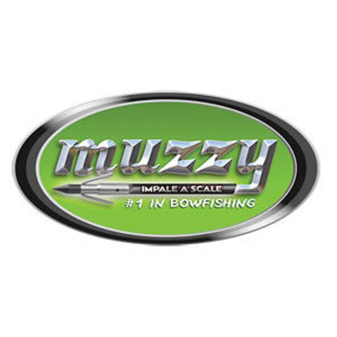 """MUZZY """"Impale a Scale"""" Oval Decal"""