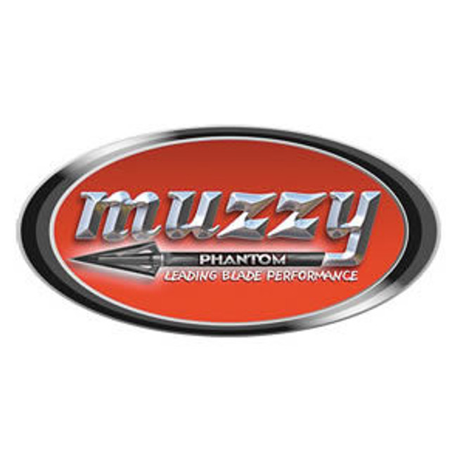 "Muzzy ""Phantom"" Oval Decal"