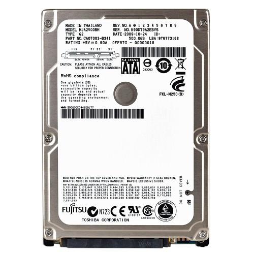 """Fujitsu 160GB SATA 2.5"""" Hard Drive"""