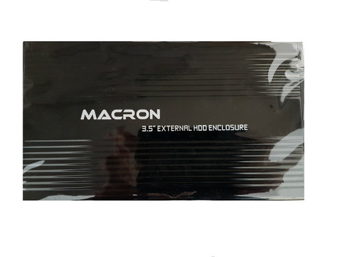 "Macron 3.5"" External SATA HDD USB 2.0 Enclosure (CE-3011)"