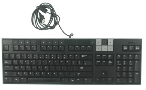 Dell U0003-DEL5 Multimedia USB Keyboard (0U473D)