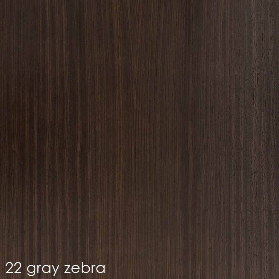 22 gray zebra