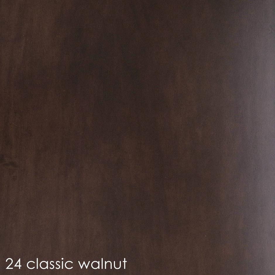 24 classic walnut