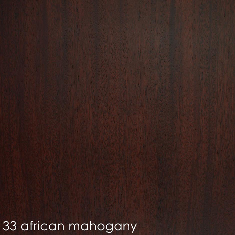 33 african mahogany