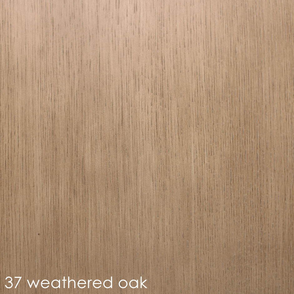 37 weathered oak