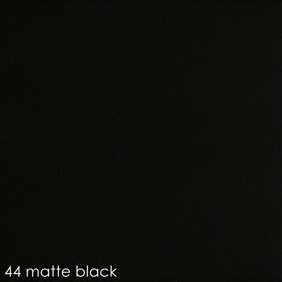44 matte black
