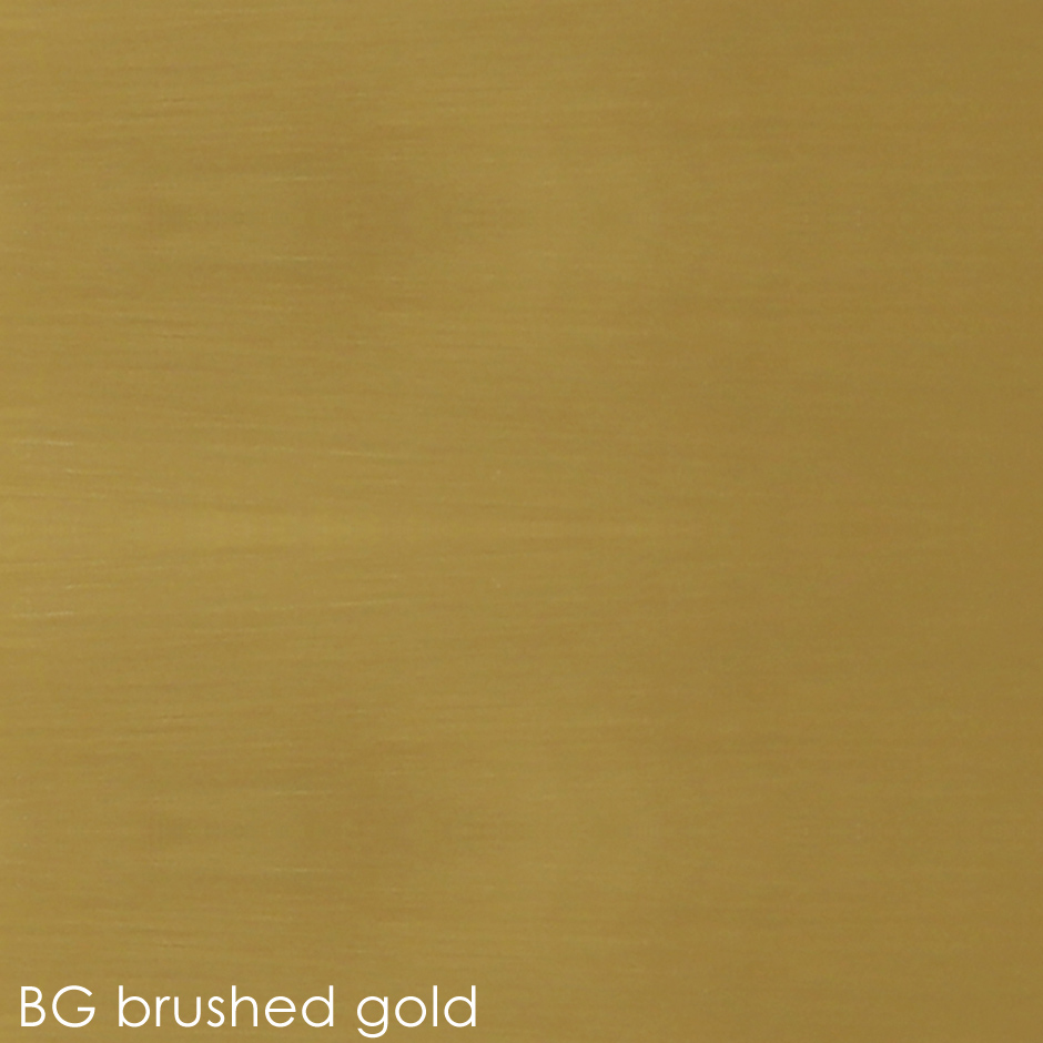 BG brushed gold