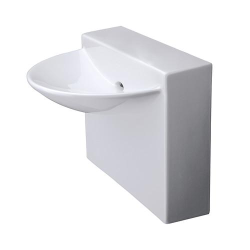 """4500S Block Sink 17-3/4""""W"""