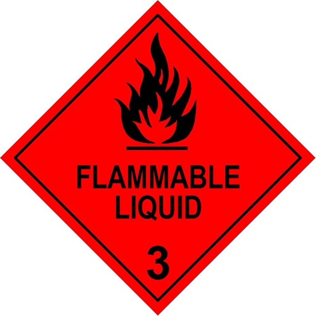 Flammable Liquid 3 (Model No 3)