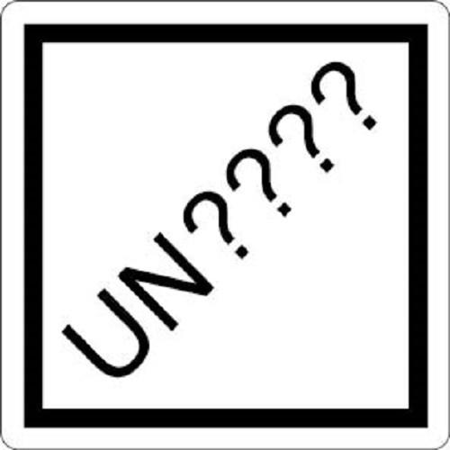 UN Number Labels