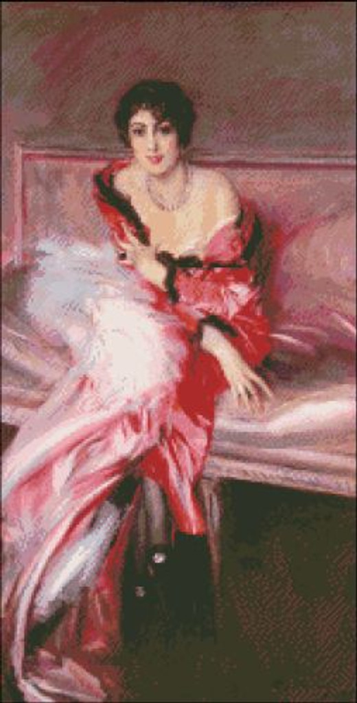 Madame Juillard in Red