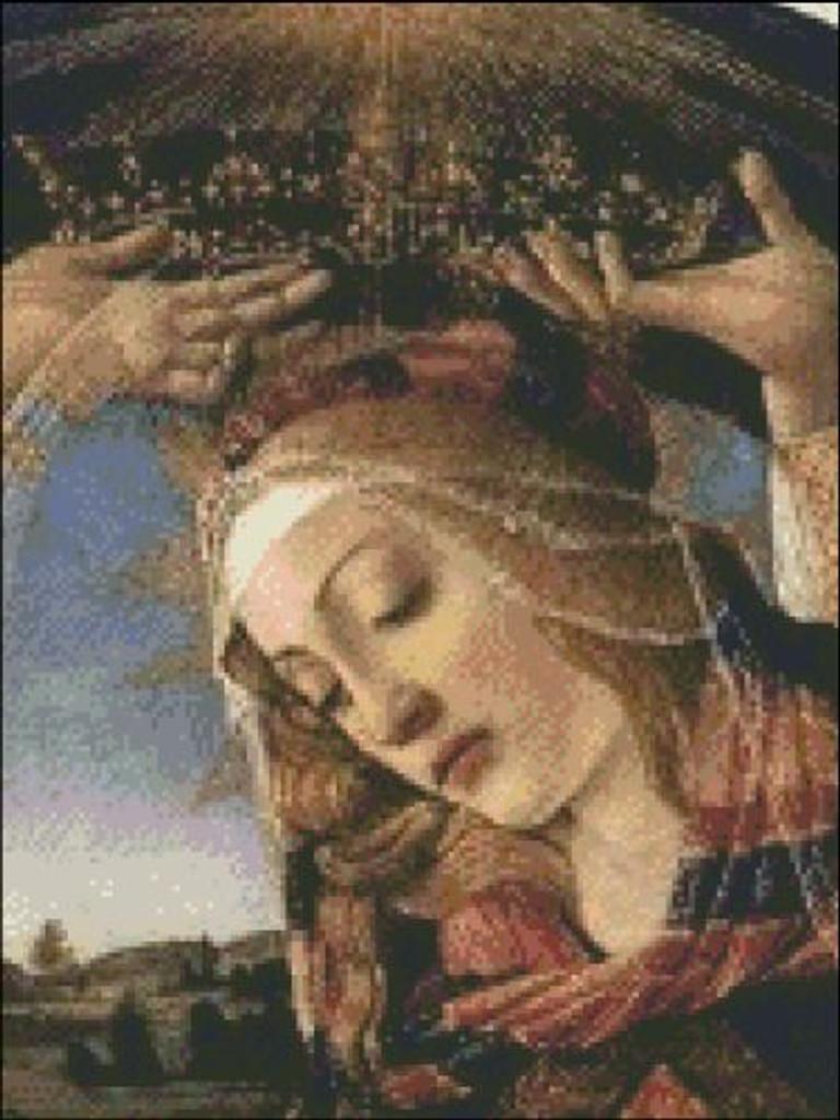 Madonna de Magnificant (Detail)