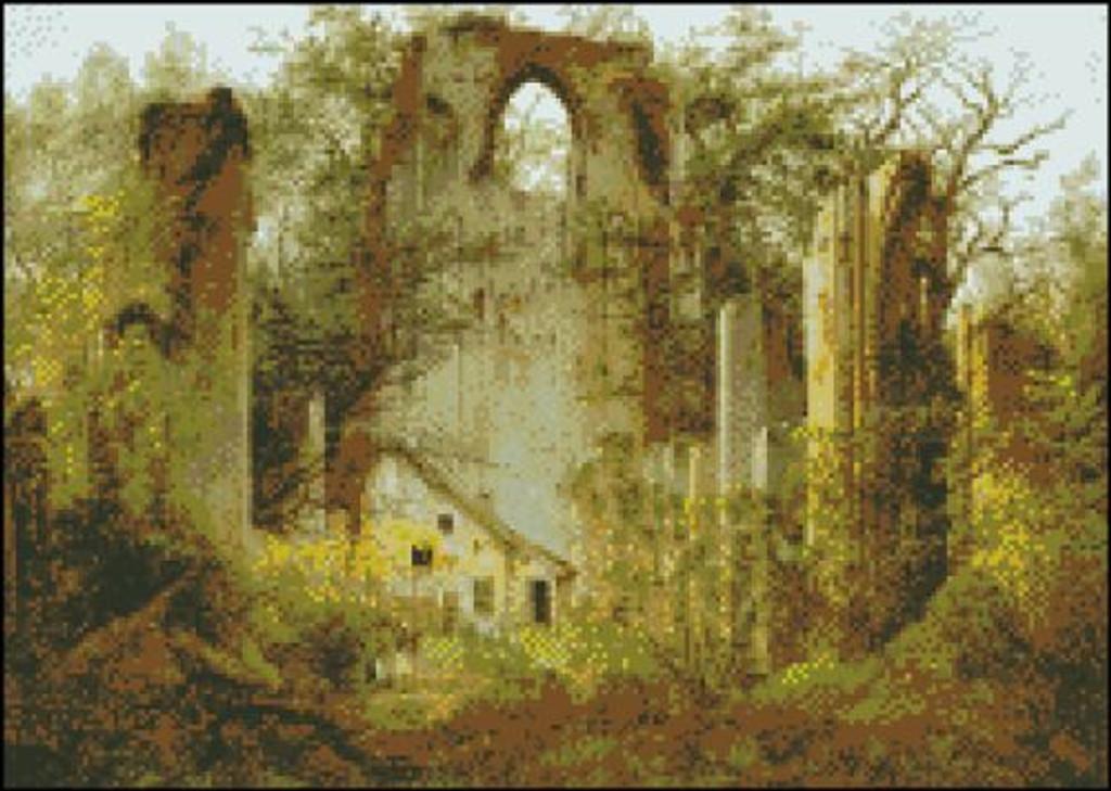 Cloister Ruin in Eldena