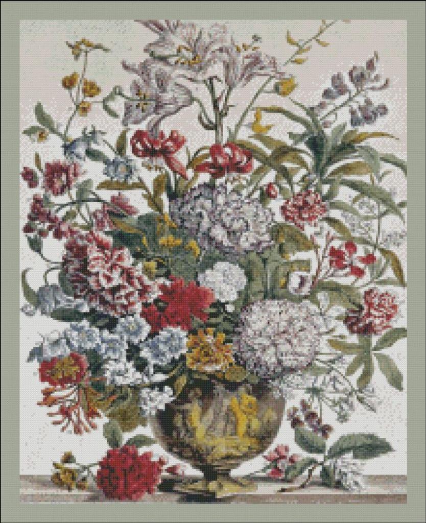 Twelve Months of Flowers - 007 July