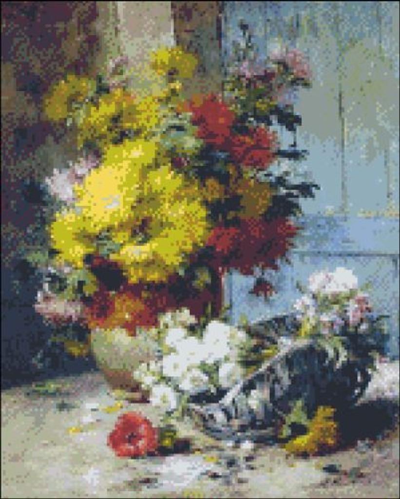 Summer Flowers by Cauchois