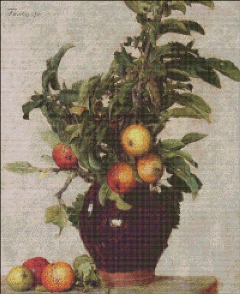 Apples and Foliage